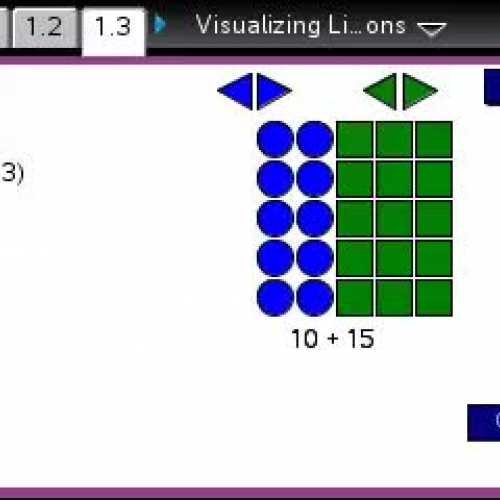 Visualizing Linear Expressions  [TI Building Concepts Preview Video]