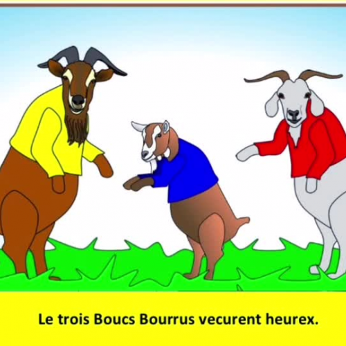 Le trois Boucs Borrus
