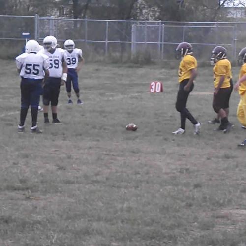 Loneman football vs Crazy Horse School Sept.12