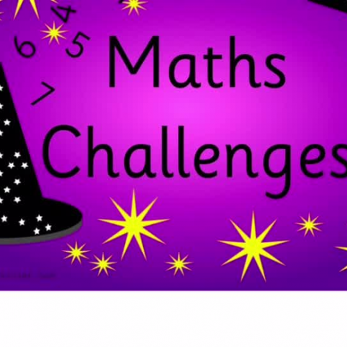 5S Maths challenge