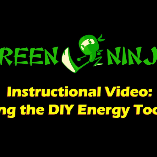 Instructional Video: Using the DIY Energy Toolkit