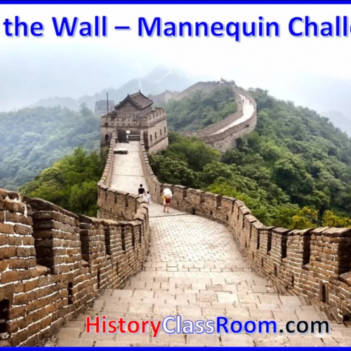 Mannequin Challenge - Build The Wall!