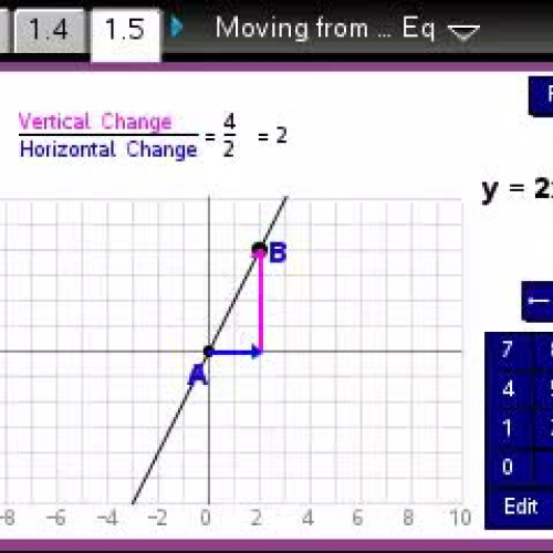 Moving from Proportions to Linear Equations  [TI Building Concepts Preview Video]