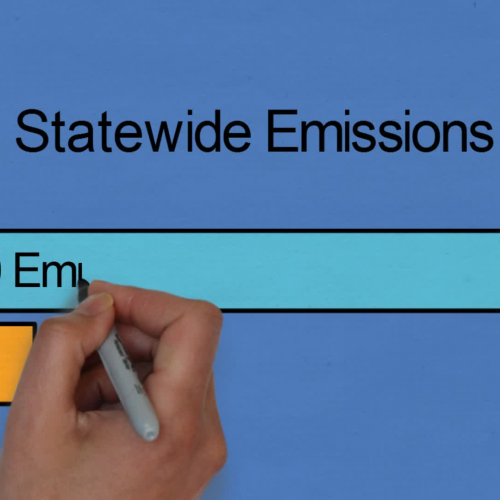 Global Warming Solutions Act - Animated Graph