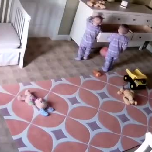 Two year old miraculously saves twin brother - Full Video