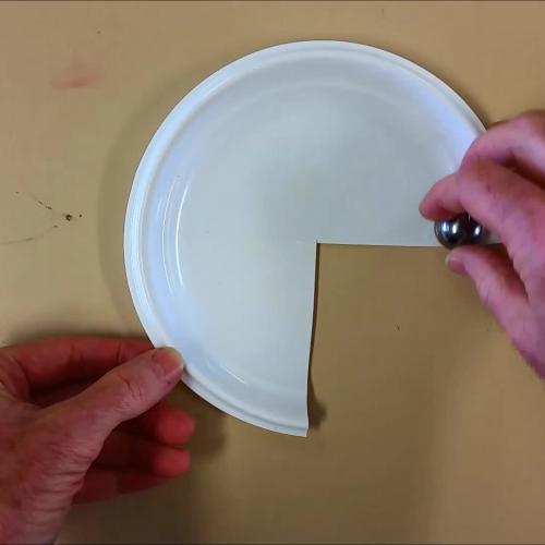 Circular motion using a plate
