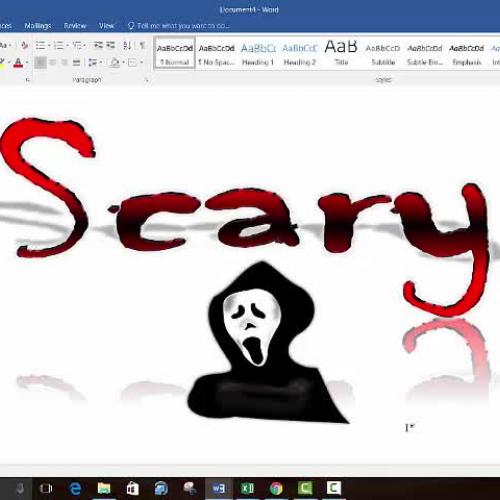 WordArt Video Demonstration