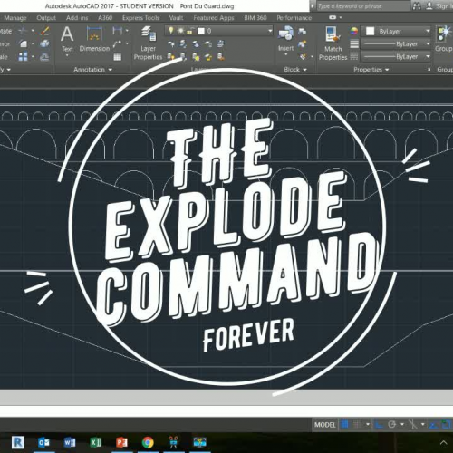 The Explode Command