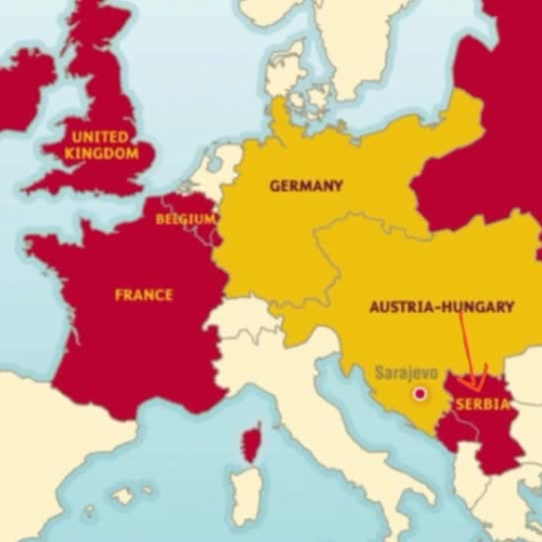 The Spark & Alliances of WWI
