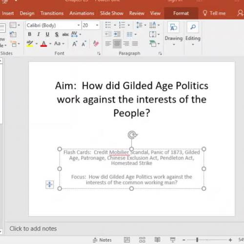Module 6.2 Gilded Age Politics