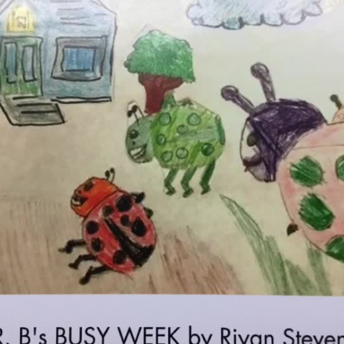Dr. B's Busy Week, by Riyan Stevens