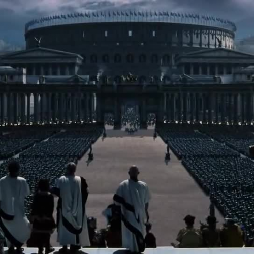 Gladiator: Commodus Enters Rome