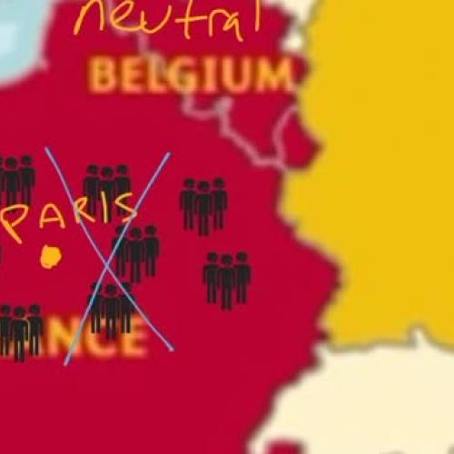 Germany's Schlieffen Plan