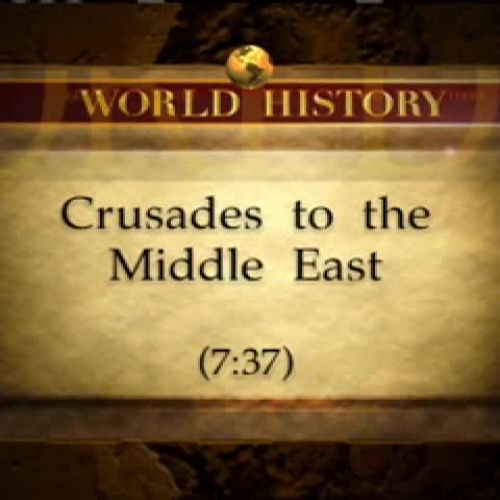 Crusades to the Middle East