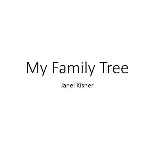 My Family Tree Sample Video