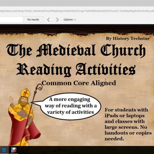 Medieval Church Video