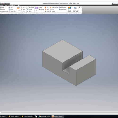 Introduction to Inventor Drawing Part 6