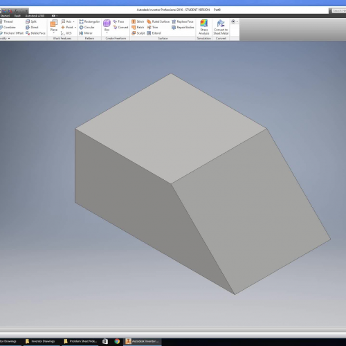 Introduction to Inventor Drawing Part 7