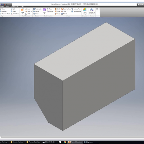 Introduction to Inventor Drawing Part 8