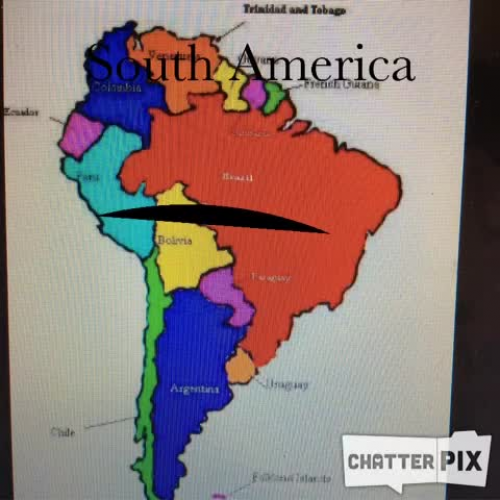 South America Chatterpix