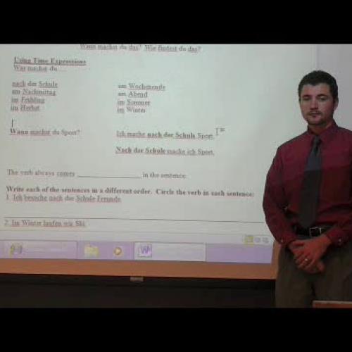 Deutsch I Grammatik 2.3