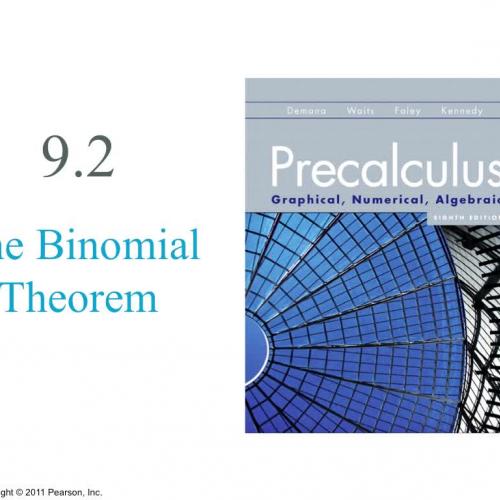 Precalculus9.2
