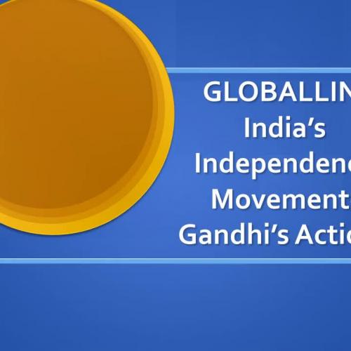 Gandhi's Actions