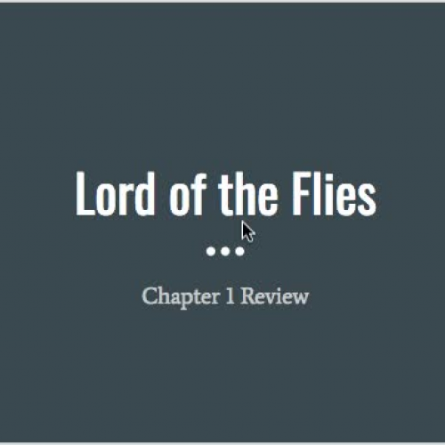 Lord of the Flies Chapter 1 review