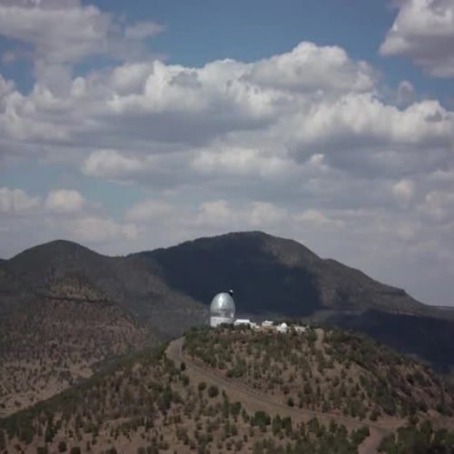 McDonald Observatory on the Spinning Earth