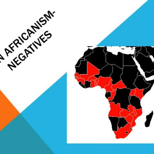 Pan Africanism- Rwandan Genocide