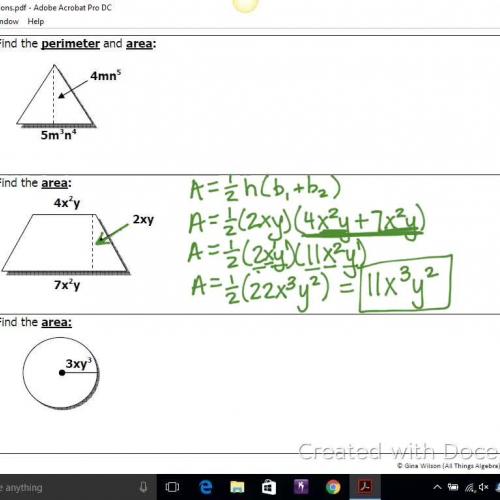 Geometric Applications 4