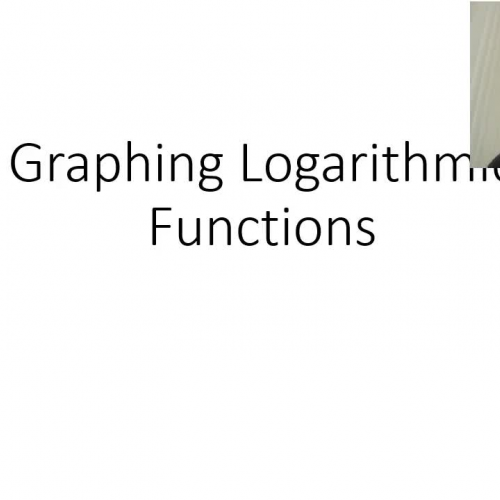 Graphing Log Functions (part 1)