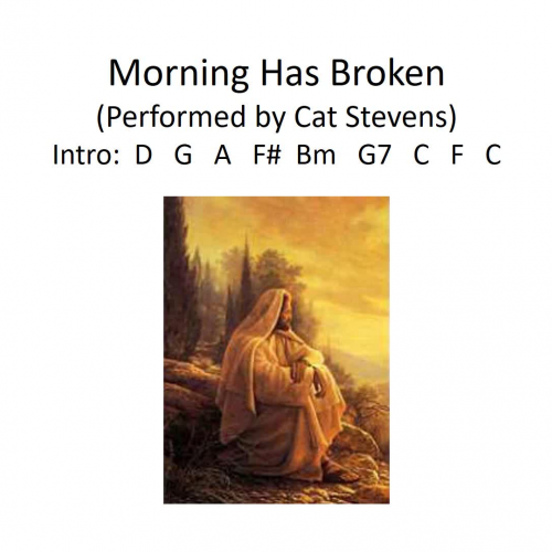 Morning Has Broken (vocals)