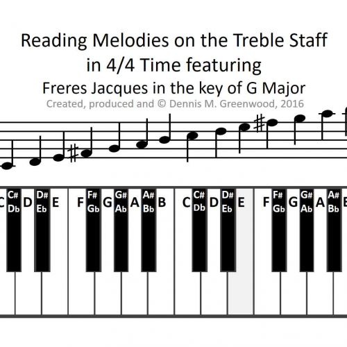 Melody Worksheet - Freres Jacques