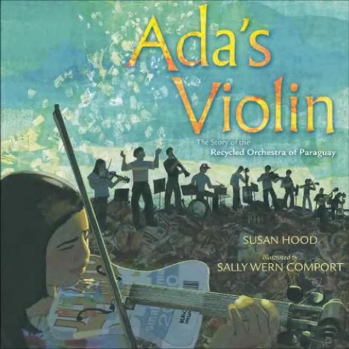 Texas Bluebonnet Award - Ada's Violin by Susan Hood