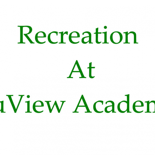 Recreation  at NuView Academy