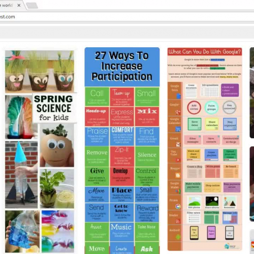 Pinterest Screencast