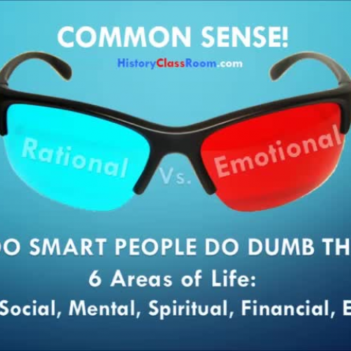 COMMON SENSE! Can it be Developed?