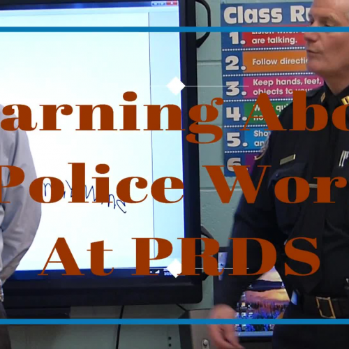 Learning About Police Work at Piscataway Regional Day School