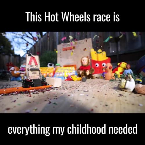 Epic Hot Wheels Race