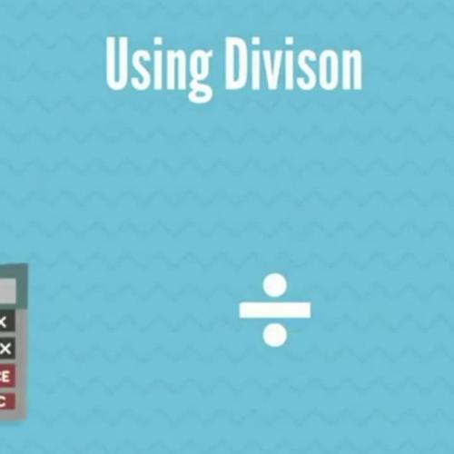Using Division