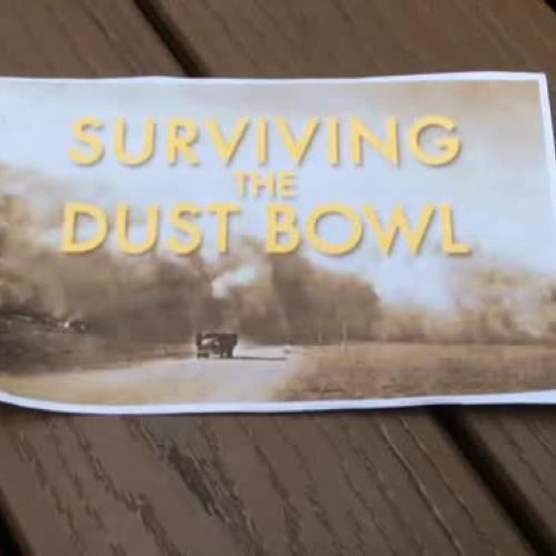 The Great American Dust Bowl Graphic Novel Book Trailer