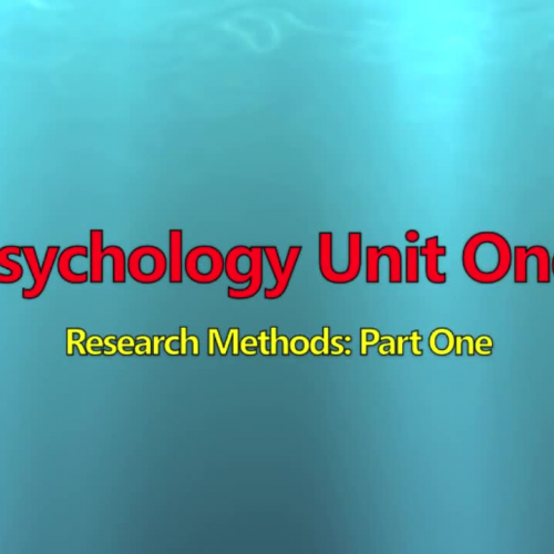 Psych Research Methods