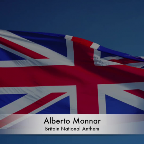 Alberto Monnar - Britain National Anthem (Piano)