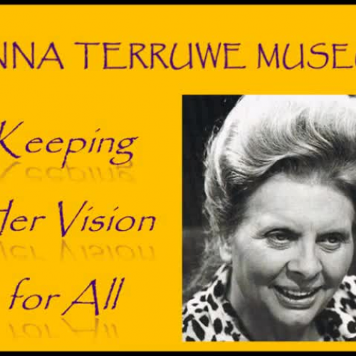 Anna Terruwe Museum: Keeping Her Vision for All