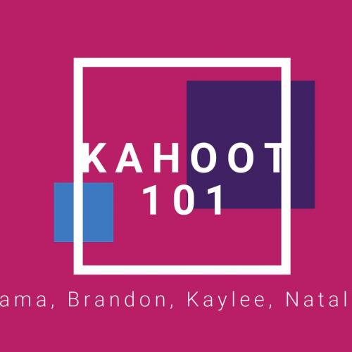 Kahoot 101