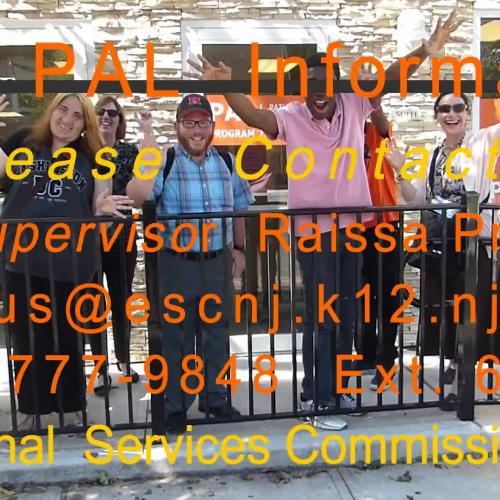 ESCNJ's PAL students practice using public transportation