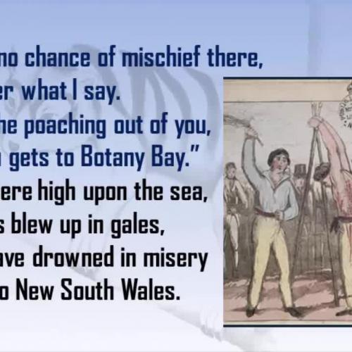 Jim Jones at Botany Bay (Anonymous)