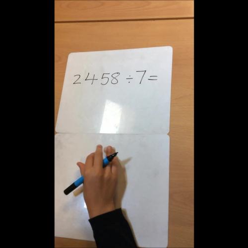 Maths - Year 5 - Division
