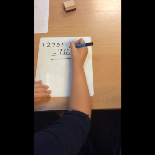 Maths - Year 6 - Subtraction